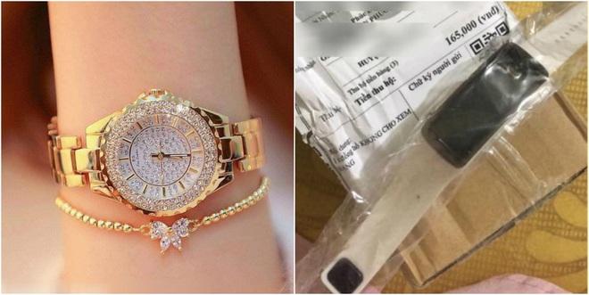 Đặt mua đồng hồ sang chảnh, nhận về đồng hồ nhựa, cô gái lên mạng than liền bị mắng vì một lý do - ảnh 4