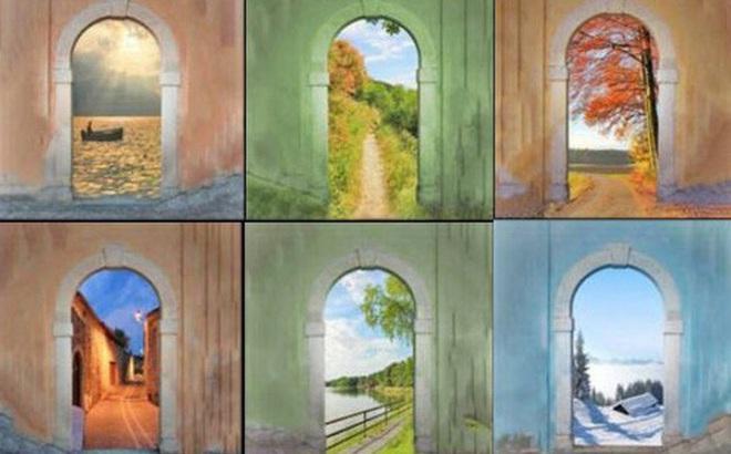 Chọn một cánh cửa mà bạn yêu thích để biết xu hướng cuộc sống của bạn trong tương lai