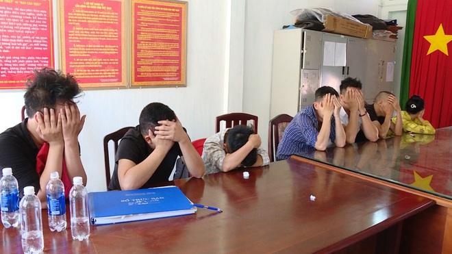Nhóm 11 nam nữ từ Đồng Nai đến Vũng Tàu thuê biệt thự để sử dụng ma túy tập thể - Ảnh 1.