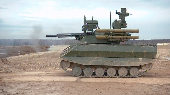 Robot Uran-9 Nga chính thức thực chiến ở Syria: Bước ngoặt mới - Ảnh 2.