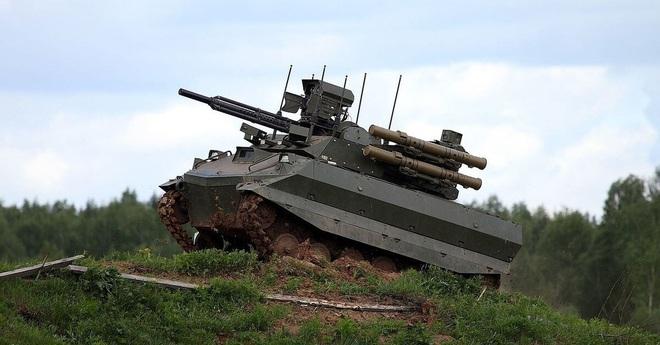 Robot Uran-9 Nga chính thức thực chiến ở Syria: Bước ngoặt mới - Ảnh 6.