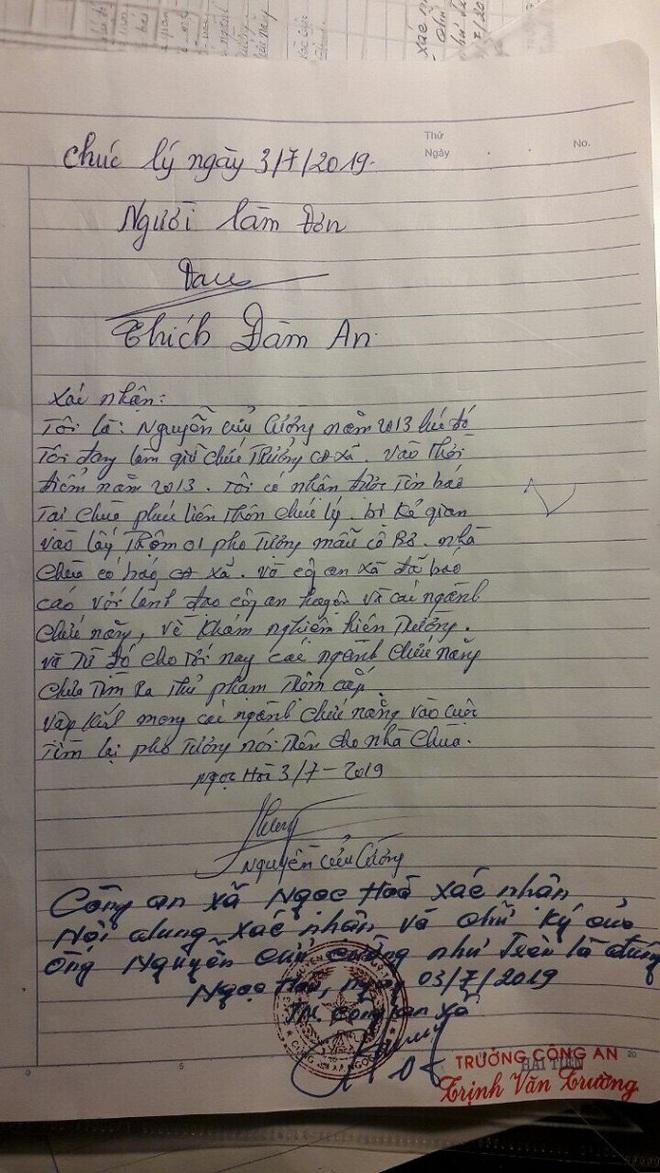 Tượng Cô Bơ cổ bị đánh cắp, 3 năm sau lưu lạc đến nhà thầy bói ở Thái Bình? - Ảnh 2.