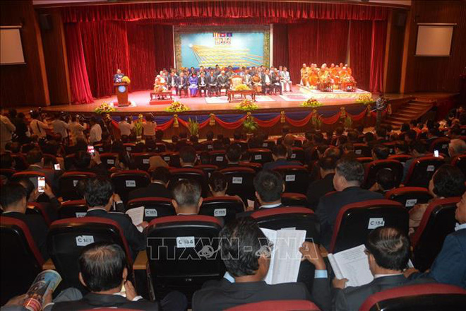 Campuchia kỷ niệm 41 năm Ngày thành lập Mặt trận Đoàn kết cứu nước - Ảnh 2.