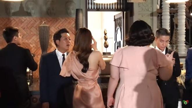 Nhã Phương giật mình trước câu nói của Trường Giang với chồng MC Hoàng Oanh - Ảnh 1.
