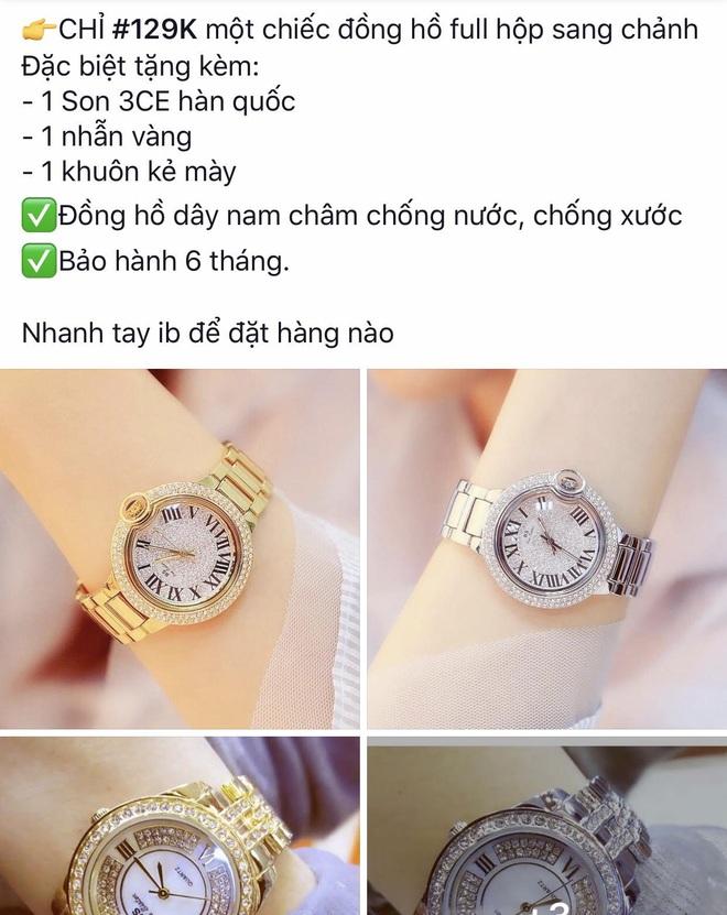 Đặt mua đồng hồ sang chảnh, nhận về đồng hồ nhựa, cô gái lên mạng than liền bị mắng vì một lý do - ảnh 3