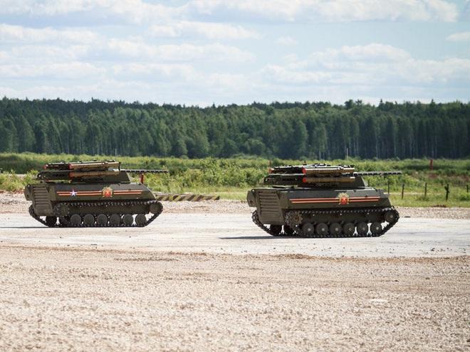 Robot Uran-9 Nga chính thức thực chiến ở Syria: Bước ngoặt mới - Ảnh 8.