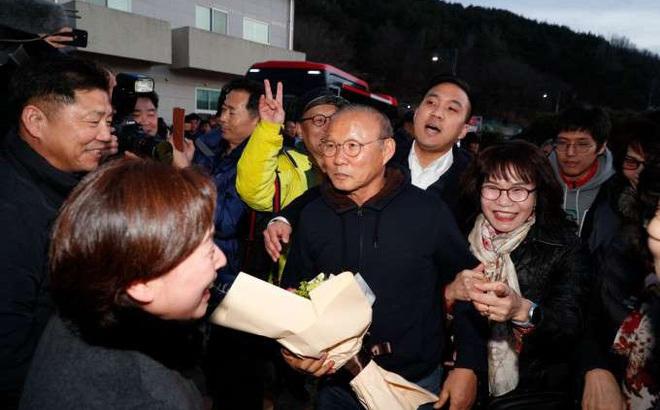 """HLV Park Hang-seo: """"Thật tuyệt khi được về thăm quê"""""""