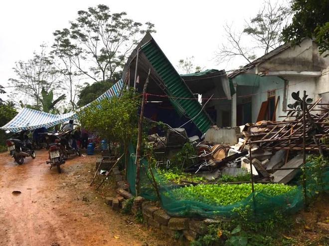 Hiện trường vụ nổ kinh hoàng tại Nghệ An khiến 2 cha con tử vong, con dâu sẩy thai - Ảnh 2.