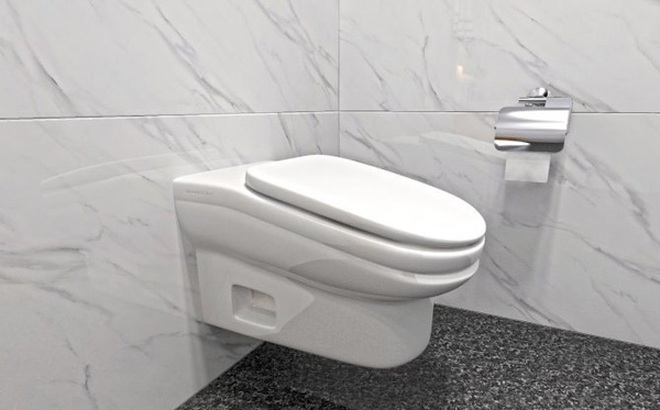 Mẫu bồn cầu ngăn nhân viên trốn việc vừa được phát minh, có thiết kế đặc biệt khiến người sử dụng không thể đi vệ sinh quá 5 phút
