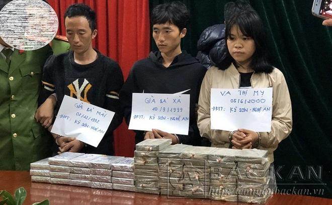 Cô gái 10X cùng chồng sắp cưới vận chuyển 55 bánh heroin từ Nghệ An lên Cao Bằng