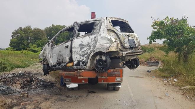Công an TPHCM thông tin vụ nghi phạm giết cả gia đình Hàn Quốc cướp tài sản đốt xe phi tang - Ảnh 3.