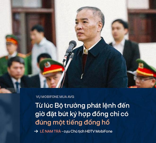 Cựu Chủ tịch Lê Nam Trà khóc xin giảm án cho các lãnh đạo ưu tú đã xây dựng MobiFone - Ảnh 1.