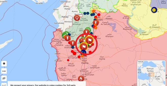 CẬP NHẬT: Diễn biến chiến sự Syria quá nhanh - Phiến quân chết như ngả rạ, sụp đổ hàng loạt - Ảnh 14.