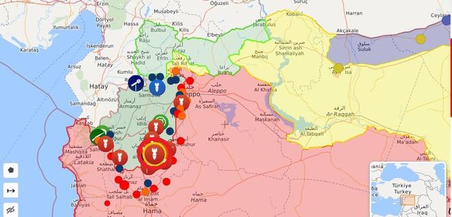 CẬP NHẬT: Diễn biến chiến sự Syria quá nhanh - Phiến quân chết như ngả rạ, sụp đổ hàng loạt - Ảnh 1.