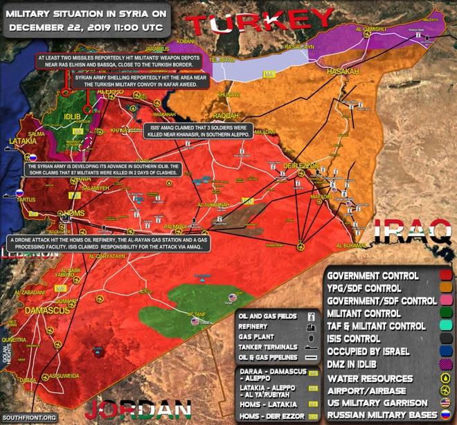 CẬP NHẬT: Diễn biến chiến sự Syria quá nhanh - Phiến quân chết như ngả rạ, sụp đổ hàng loạt - Ảnh 7.