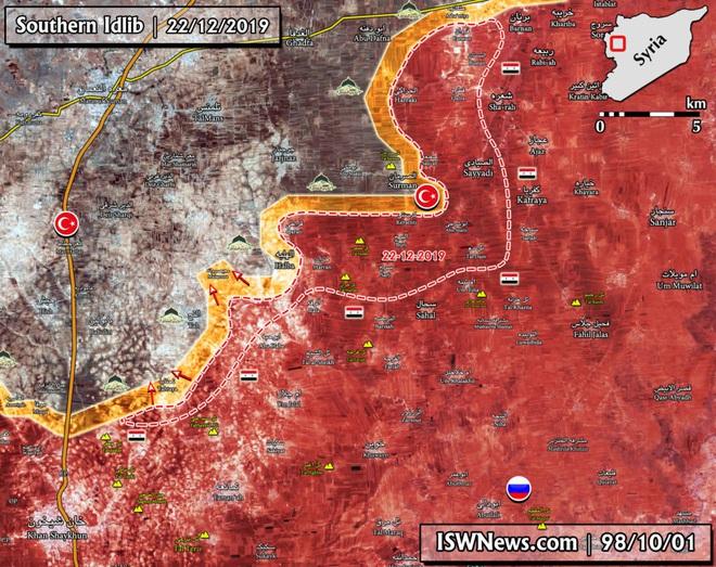 CẬP NHẬT: Diễn biến chiến sự Syria quá nhanh - Phiến quân chết như ngả rạ, sụp đổ hàng loạt - Ảnh 3.