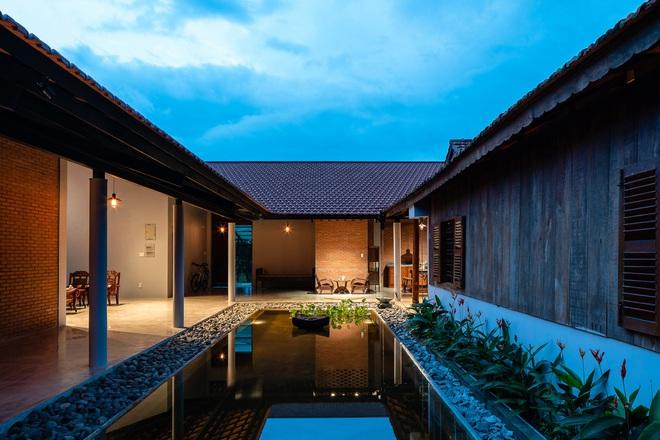 Mãn nhãn với ngôi nhà nội thất toàn bằng gỗ, như ốc đảo giữa nông thôn Việt Nam - Ảnh 10.