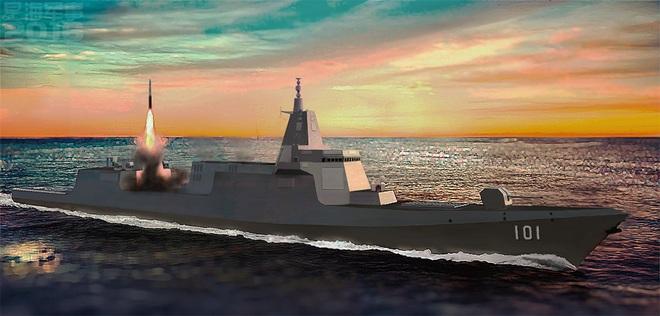 Đăng bài khoe vũ khí, HQ Trung Quốc để lộ khả năng tấn công nguy hiểm của chiến hạm 10.000 tấn - Ảnh 1.