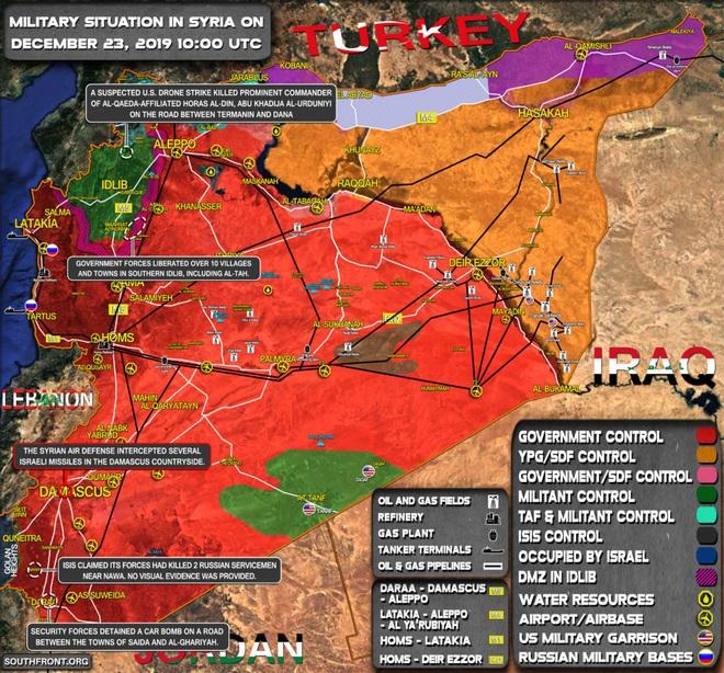 CẬP NHẬT: Máy bay tối tân của Mỹ áp sát Syria - Israel khiến PK Syria xoay như chong chóng - Ảnh 10.