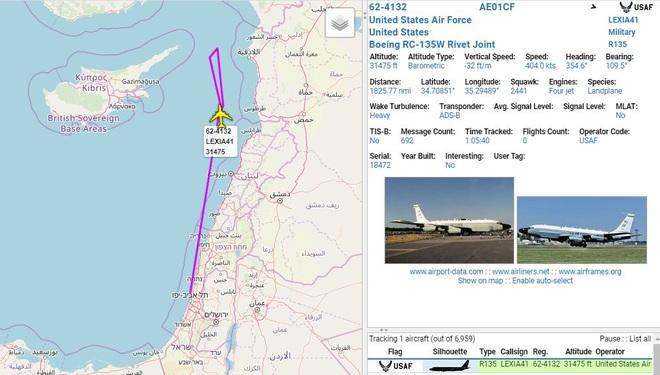 CẬP NHẬT: Máy bay tối tân của Mỹ áp sát Syria - Israel khiến PK Syria xoay như chong chóng - Ảnh 1.