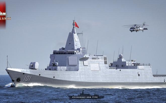 Đăng bài khoe vũ khí, HQ Trung Quốc để lộ khả năng tấn công nguy hiểm của chiến hạm 10.000 tấn