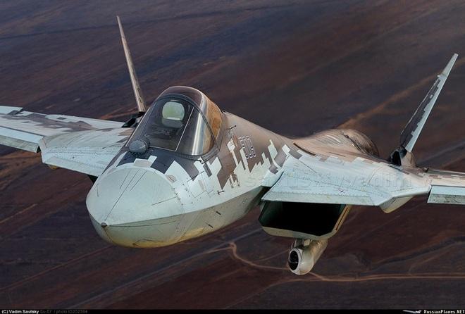 Lộ nguyên nhân bất ngờ khiến tiêm kích tàng hình Su-57 Nga rơi - Ảnh 1.