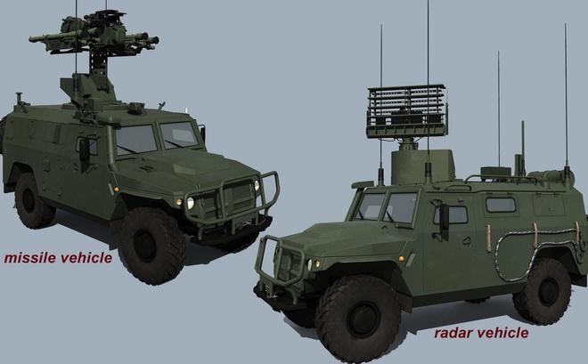 """Tổ hợp tên lửa phòng không Gibka-S tối tân của Nga sẵn sàng """"tuốt gươm khỏi vỏ"""""""