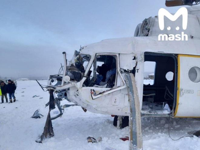 NÓNG: Trực thăng Mi-8 gãy cánh trong bão tuyết ở miền Trung nước Nga, 3 người lâm nạn - Ảnh 4.