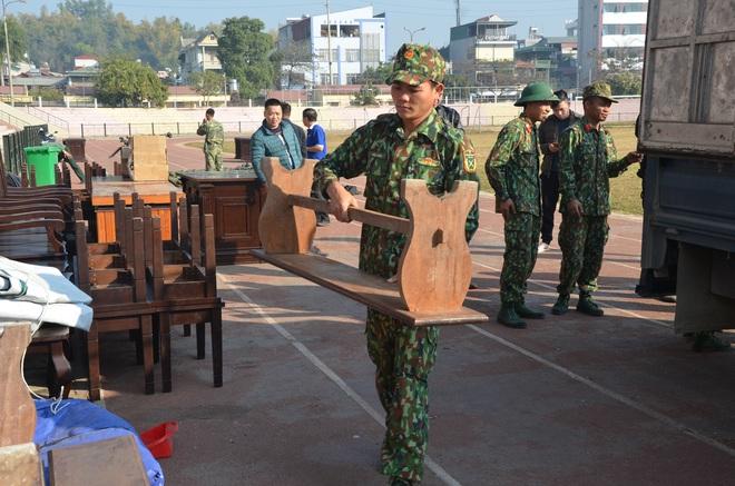 [ẢNH] Hội trường sức chứa 8.000 người cho phiên xử vụ nữ sinh giao gà ở Điện Biên - Ảnh 3.
