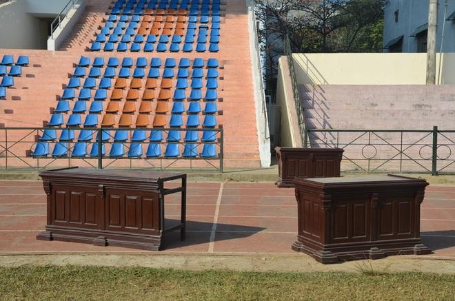 [ẢNH] Hội trường sức chứa 8.000 người cho phiên xử vụ nữ sinh giao gà ở Điện Biên - Ảnh 5.