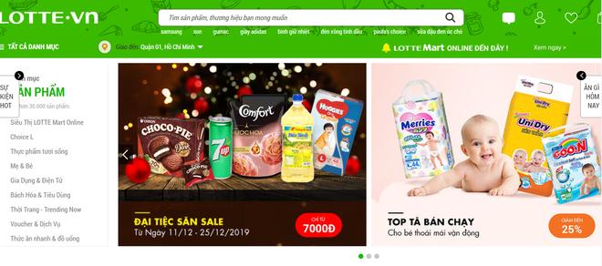 Lotte Mart tuyên bố chính thức thâu tóm trang thương mại điện tử Lotte.vn sau khi đóng cửa - Ảnh 1.