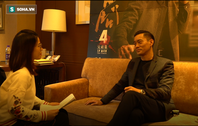 Phỏng vấn độc quyền sao Diệp Vấn: Có thể đóng Lý Tiểu Long tới 80 tuổi, tiết lộ bí mật về Châu Tinh Trì - Ảnh 4.