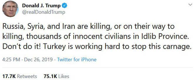 CẬP NHẬT: Tên lửa TOW nã thẳng vào xe tăng T-62 của QĐ Syria - TT Trump cáo buộc Nga đang đi trên con đường giết chóc - Ảnh 30.