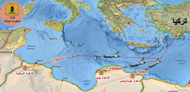 CẬP NHẬT: Không vận thành công 250 phiến quân Syria tới Libya, F-16 Thổ đánh rắn dập đầu một loạt căn cứ của LNA? - Ảnh 13.