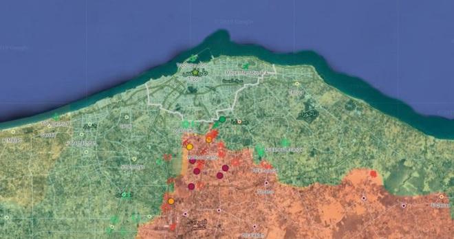 CẬP NHẬT: Thủ đô Libya bị cô lập, 3 nhóm phiến quân Syria được Thổ chọn mặt gửi vàng, KQ Nga đập nát phòng tuyến Idlib - Ảnh 2.