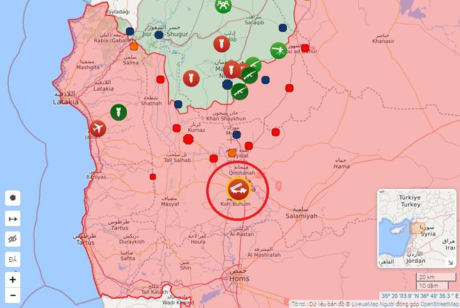 CẬP NHẬT: Căn cứ bị tập kích trong đêm, Pantsir-S1 của Syria bắn tới tấp - UAV phiến quân rơi lả tả - Ảnh 12.