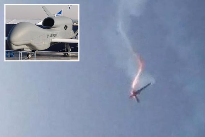 Iran nhắc khéo Mỹ thảm cảnh của UAV RQ-4, chớ dại mà đến gần vịnh Oman - Ảnh 1.