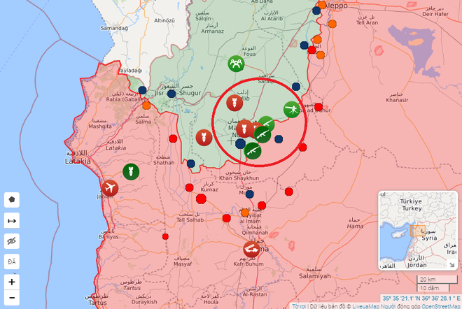 CẬP NHẬT: Căn cứ bị tập kích trong đêm, Pantsir-S1 của Syria bắn tới tấp - UAV phiến quân rơi lả tả - Ảnh 8.