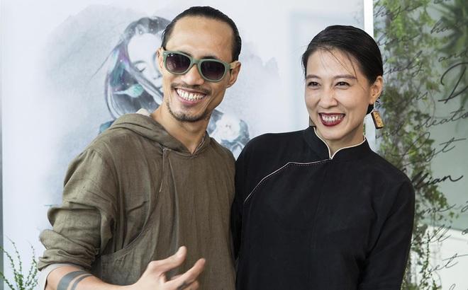Phạm Anh Khoa và vợ xuất hiện rạng rỡ tại sự kiện