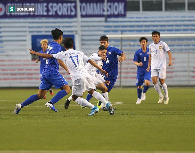Thắng chật vật trước Lào, U22 Thái Lan bị CĐV nhà chỉ trích: Nhìn Việt Nam thắng 6-1 mà ham - Ảnh 2.