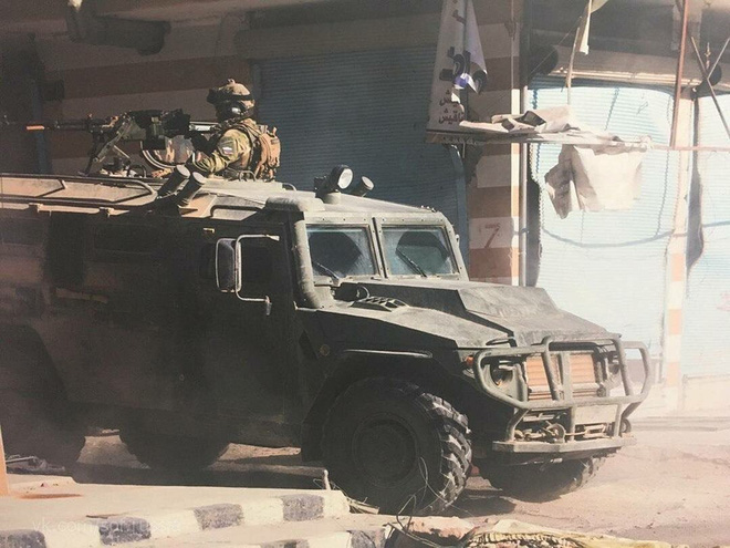 Hổ thép nào đã cứu mạng binh sĩ Nga tại Syria? - ảnh 13