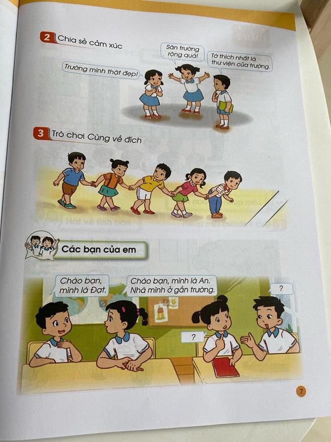 Hé lộ những trang đầu tiên trong bộ sách giáo khoa mới - Ảnh 3.