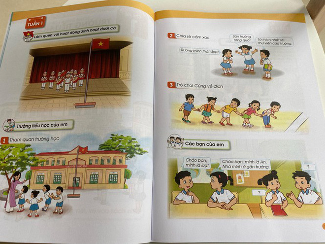 Hé lộ những trang đầu tiên trong bộ sách giáo khoa mới - Ảnh 4.