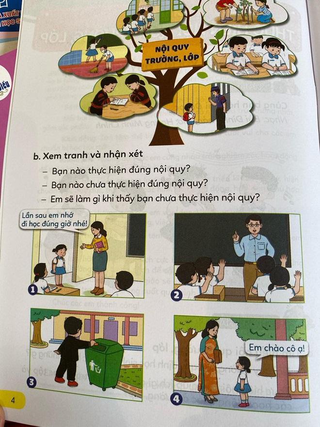Hé lộ những trang đầu tiên trong bộ sách giáo khoa mới - Ảnh 5.