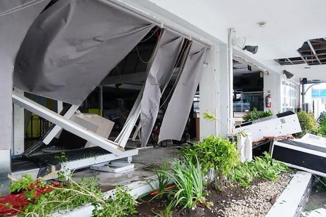 Hình ảnh mưa bão càn quét Philippines, nhiều môn thi SEA Games bị huỷ - Ảnh 9.