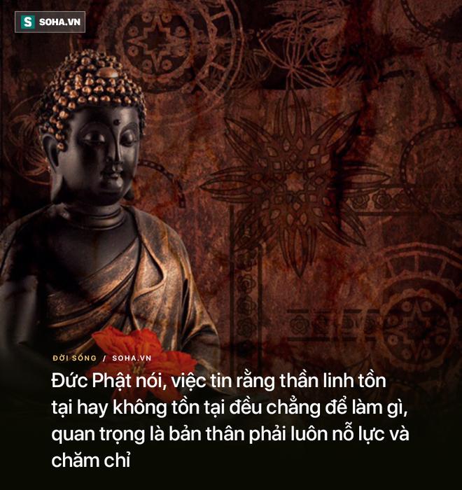 2 lần bị hỏi có thần linh hay không, Đức Phật đưa ra 2 đáp án khác nhau và lý do đáng ngẫm - Ảnh 2.