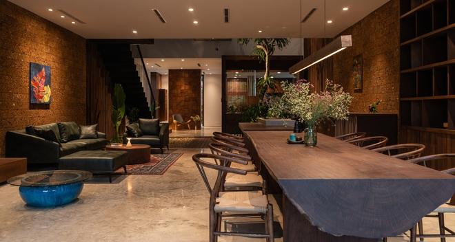 Độc đáo ngôi nhà ở Hà Nội nắng chiếu mọi nơi, trong nhà mà không khác gì ngoài trời - Ảnh 2.