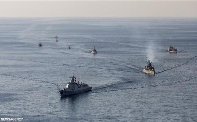 """Thông điệp Iran-Nga-Trung: Tehran không đơn độc, """"kiềng ba chân"""" hùng mạnh đang thành hình ở vùng Vịnh"""