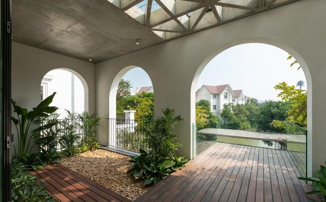 Độc đáo ngôi nhà ở Hà Nội nắng chiếu mọi nơi, trong nhà mà không khác gì ngoài trời
