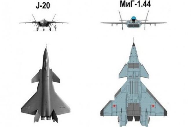 [ẢNH] Không phải MiG-1.44, J-20 thực chất là bản sao tiêm kích tuyệt mật của Liên Xô - ảnh 4